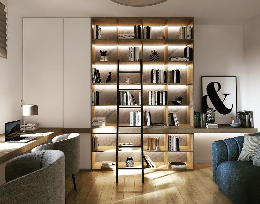 Arredare con una libreria è un modo fantastico per ...