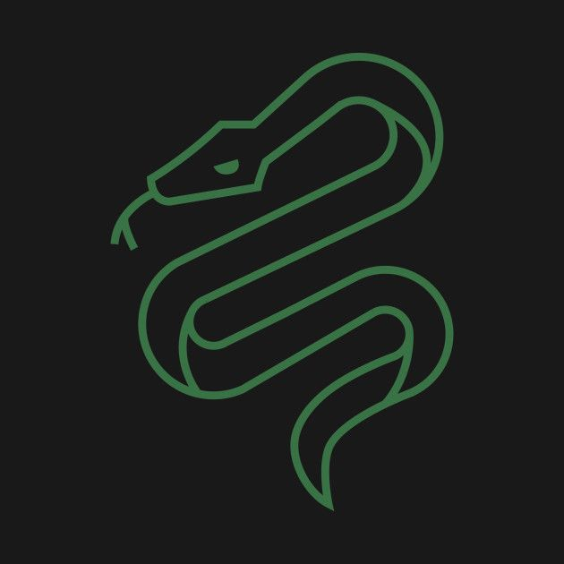 Check Out This Awesome Slytherin Minimal Design On Teepublic Slytherin Slytherin Aesthetic Harry Potter Wallpaper