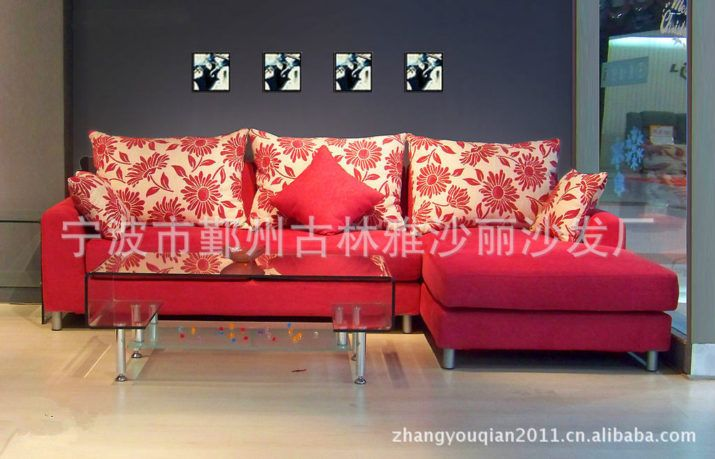 Sofa Cool Modern Furniture Designer Red Can Be Customized Color
