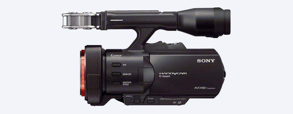 Imágenes de Handycam® fotograma completo con lentes intercambiables ...