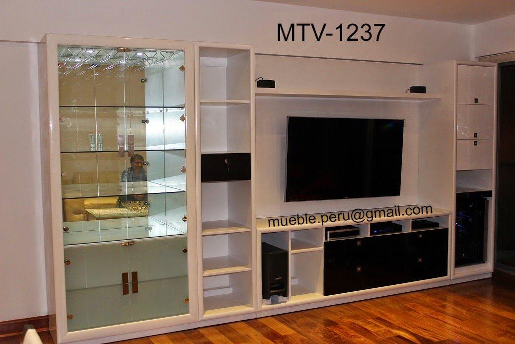 Resultado de imagen para muebles para tv mdf planos for Planos muebles melamina