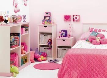 Decorando la Habitación de una Niña | Ideas para dormitorios ...