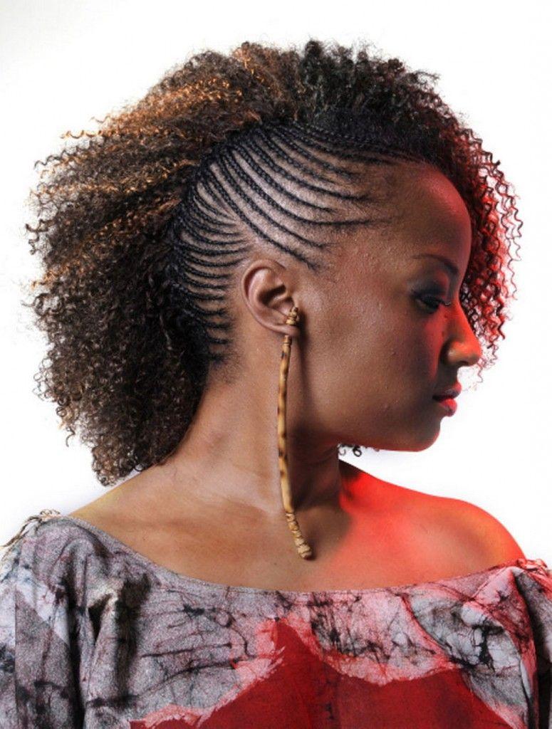 Peachy Simple Hairstyles Black Girls Hairstyles And Black Girls On Pinterest Hairstyles For Men Maxibearus