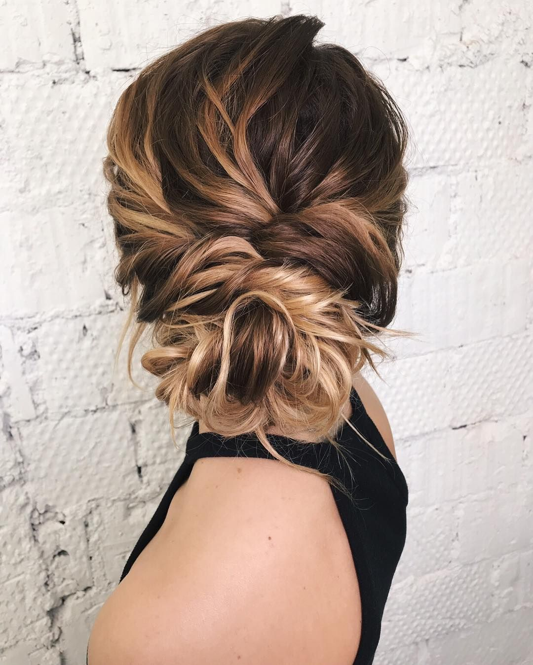 Textured Updo Updo Wedding Hairstylesupdo Hairstylesmessy Updos Bridal Hairstyles