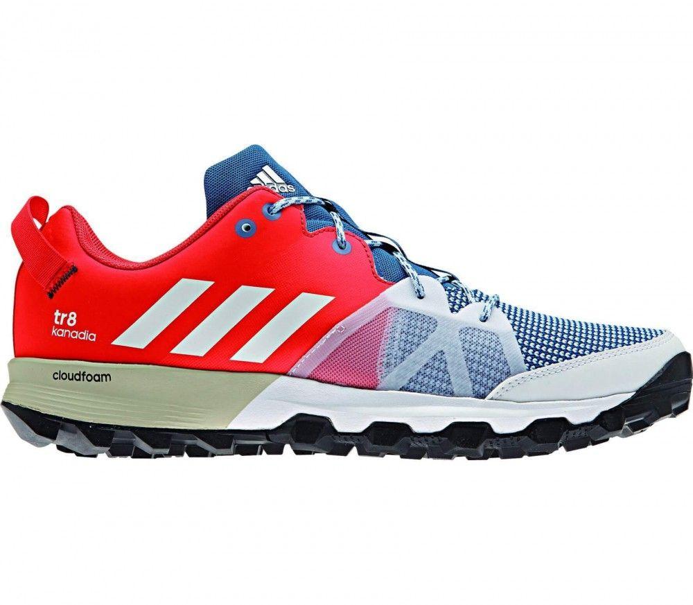 Adidas - Kanadia 8 TR men's running shoes (orange/blue)