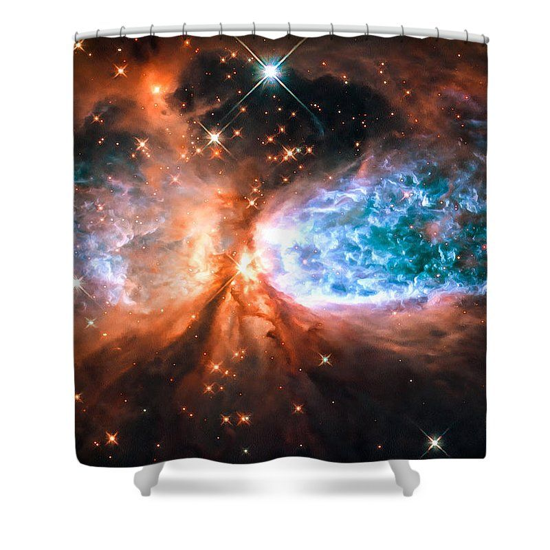 Space Shower Curtain Cygnus The Swan This Image From The Nasa Esa Hubble Space Telescope Shows Sh 2 106 Space Images Curtains For Sale Blue Shower Curtains