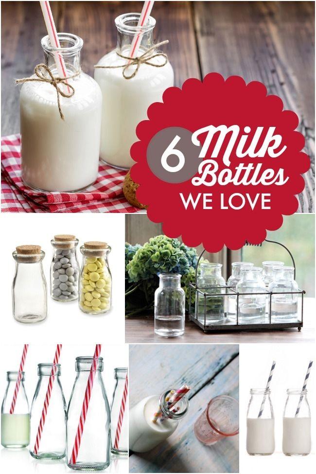 Milk Bottle Decorations Simple Party Decoration Ideas 6 Milk Bottles We Love  Milk Bottles And Design Inspiration