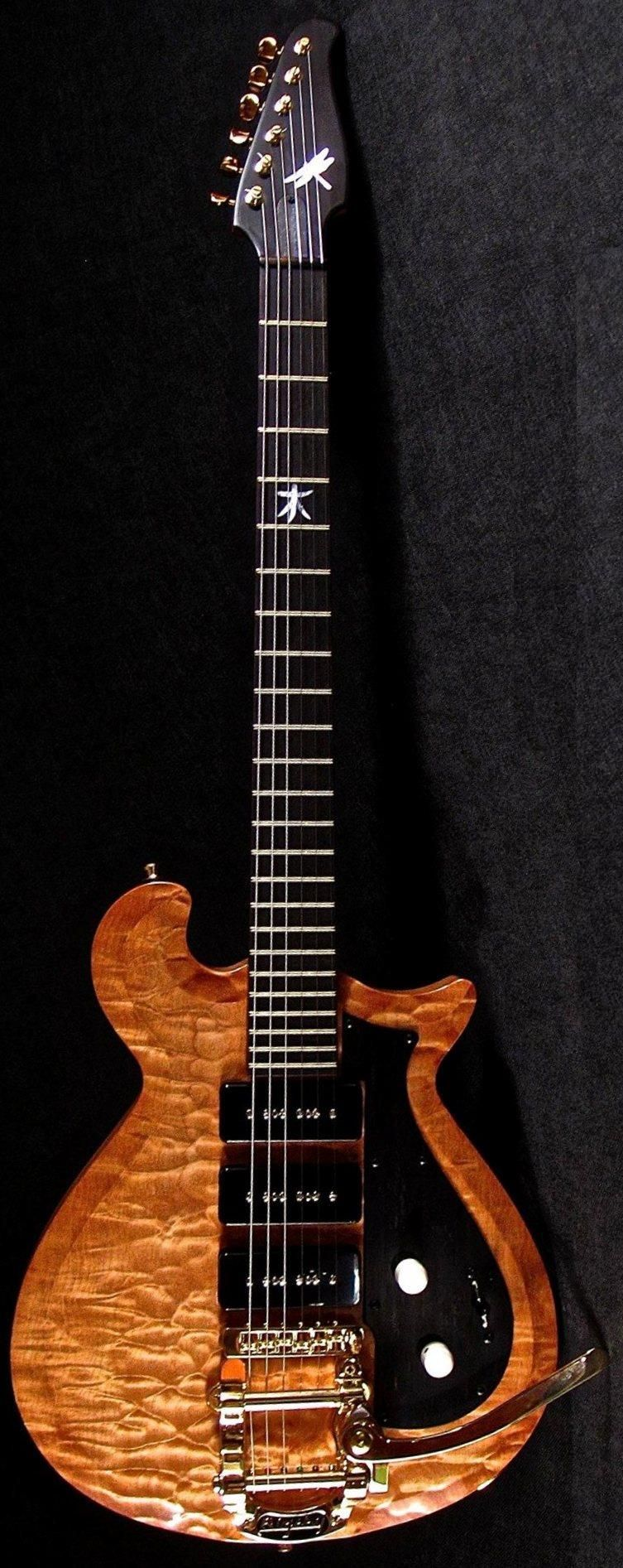 Dan Richter Dragonfly Guitars Https Www Pinterest Com Lardyfatboy Cool Electric Guitars Custom Electric Guitars Cool Guitar