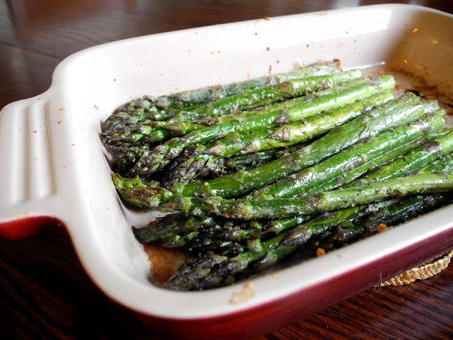 Italian Roasted Asparagus