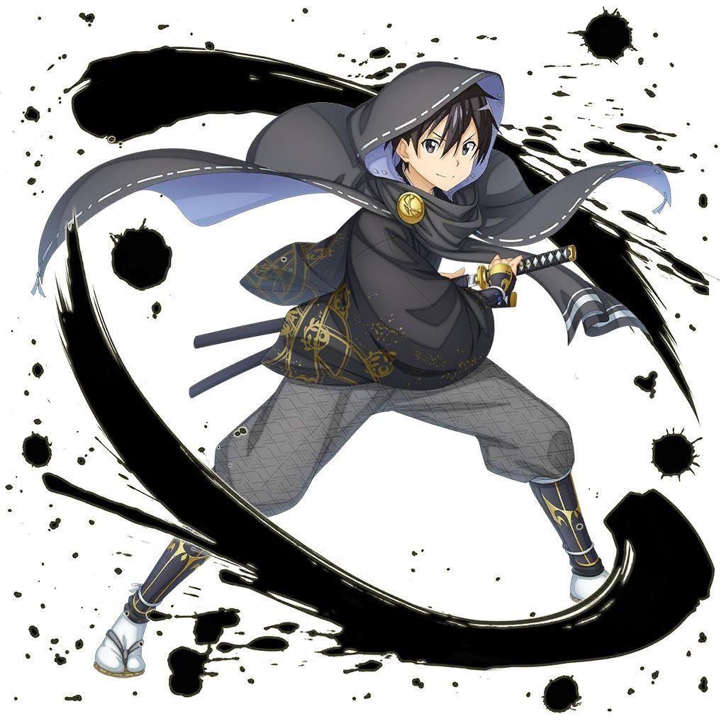 ★4[Vagabond's Slash] Kirito Anime warrior, Sword art