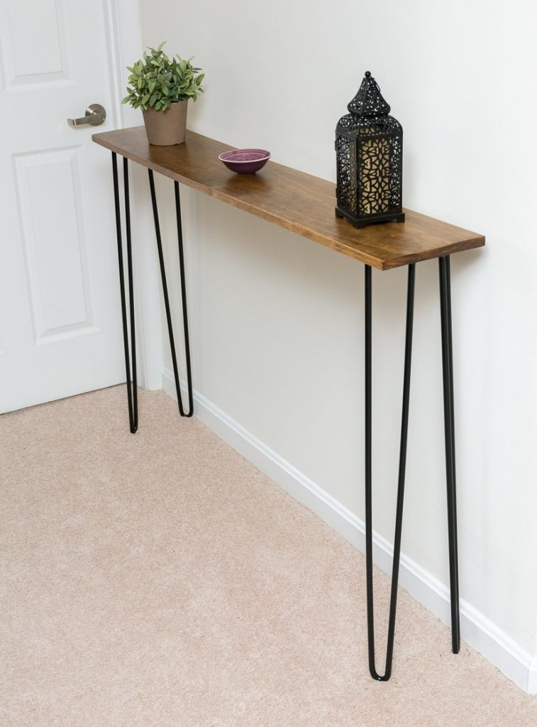 16 Crazy Cool Console Tables Knockoffdecor Com Diy Console Table Modern Console Tables Diy Console