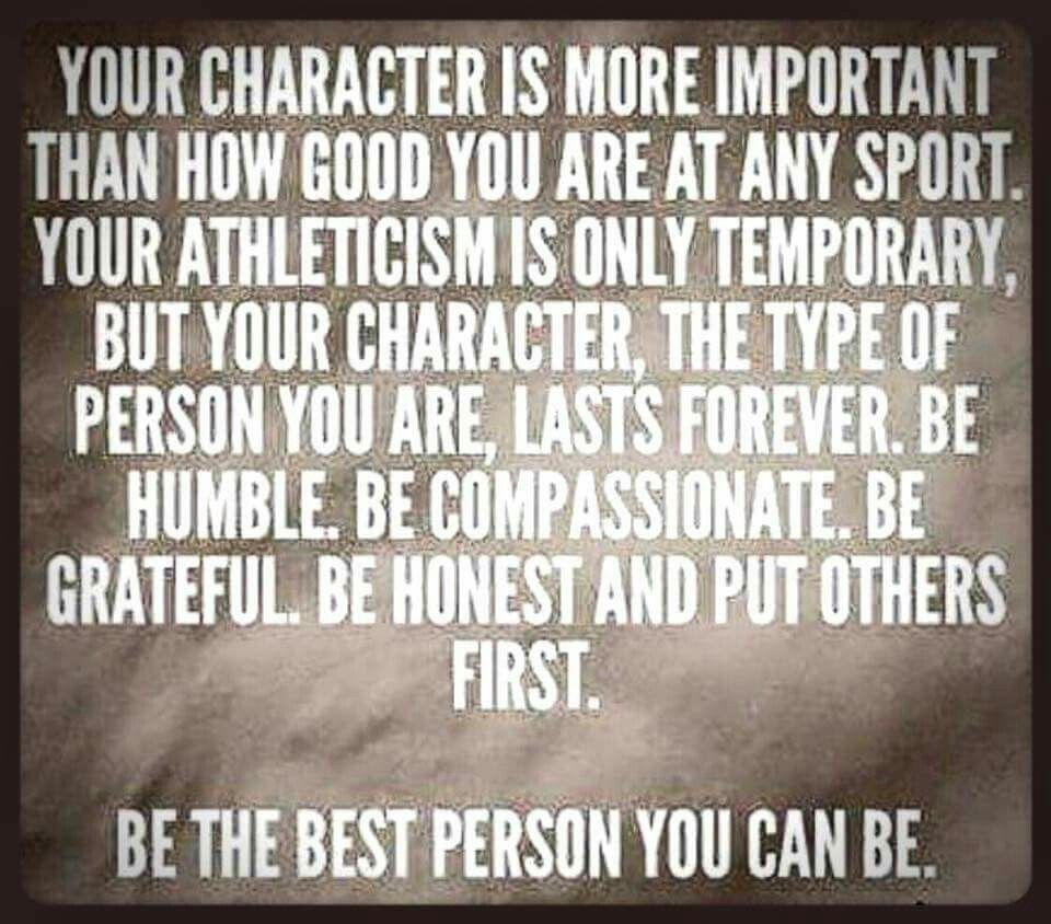 Pin By Colleen Janke On Words Of Wisdom Athlete Quotes Coach Quotes Character Quotes