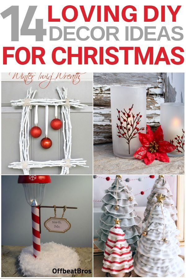 Stunning DIY Christmas Decorations You'll Fall in Love With Home decor is an integral part of christmas. These DIY home decor ideas for christmas are simply amazing. Why to spend money on expensive christmas decorations when you can decorate your home for christmas at a fraction of cost with these diy chr