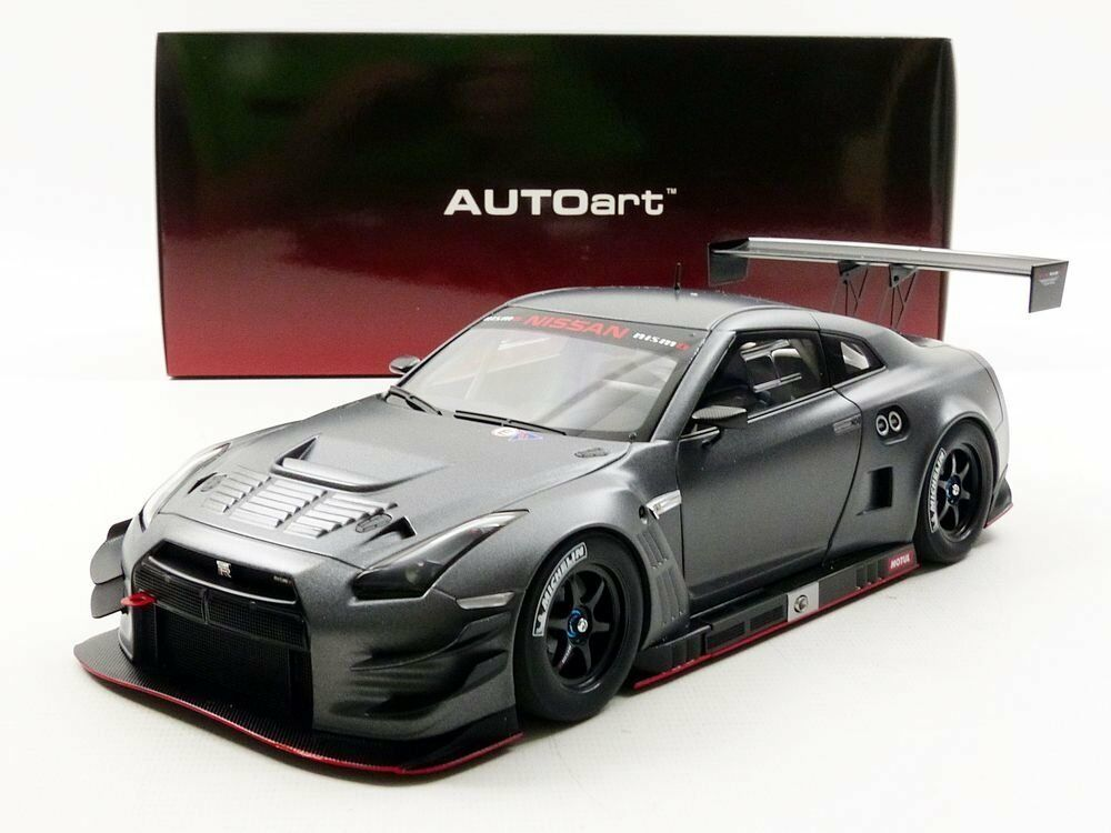 Ebay Sponsored Autoart Nissan Gt R Nismo Gt3 Dark Matt Grey Model Car 1 18 Dark Matt Gray Nissan Gt Nissan Gt R Nissan