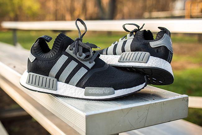 adidas NMD Black Grey Reflective   SneakerFiles