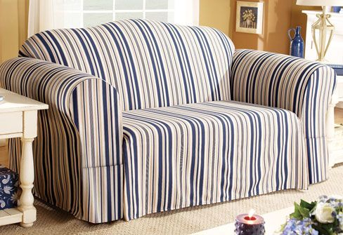 Beach Inspired Decor Cover Your Furniture With Nautical