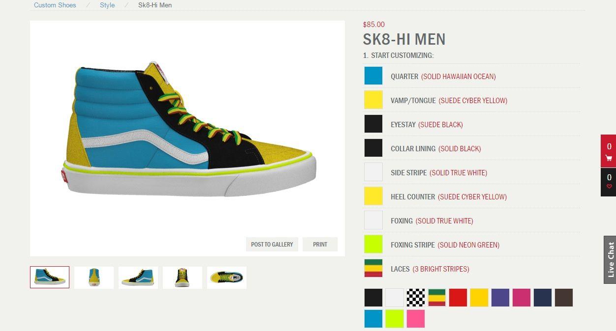 Custom Skate Shoes Online | Designer shoes online Shoe ...