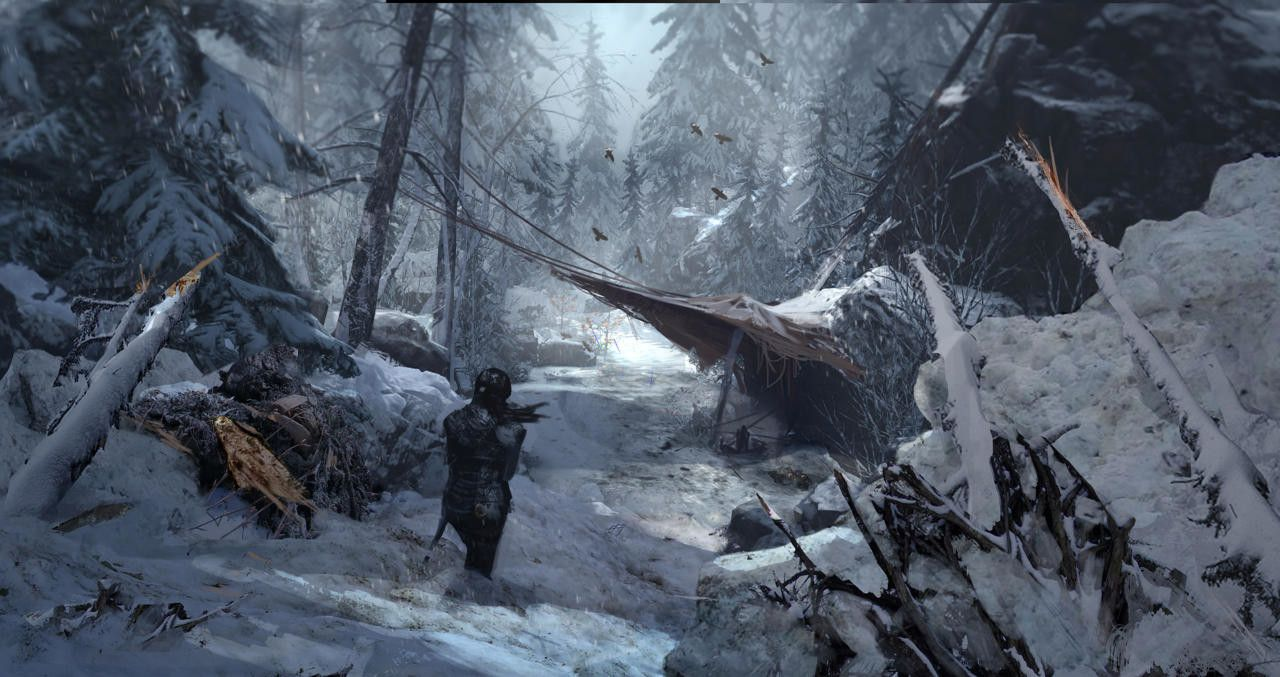 Tomb Raider Concept Art With Images Tomb Raider Art Rise Of