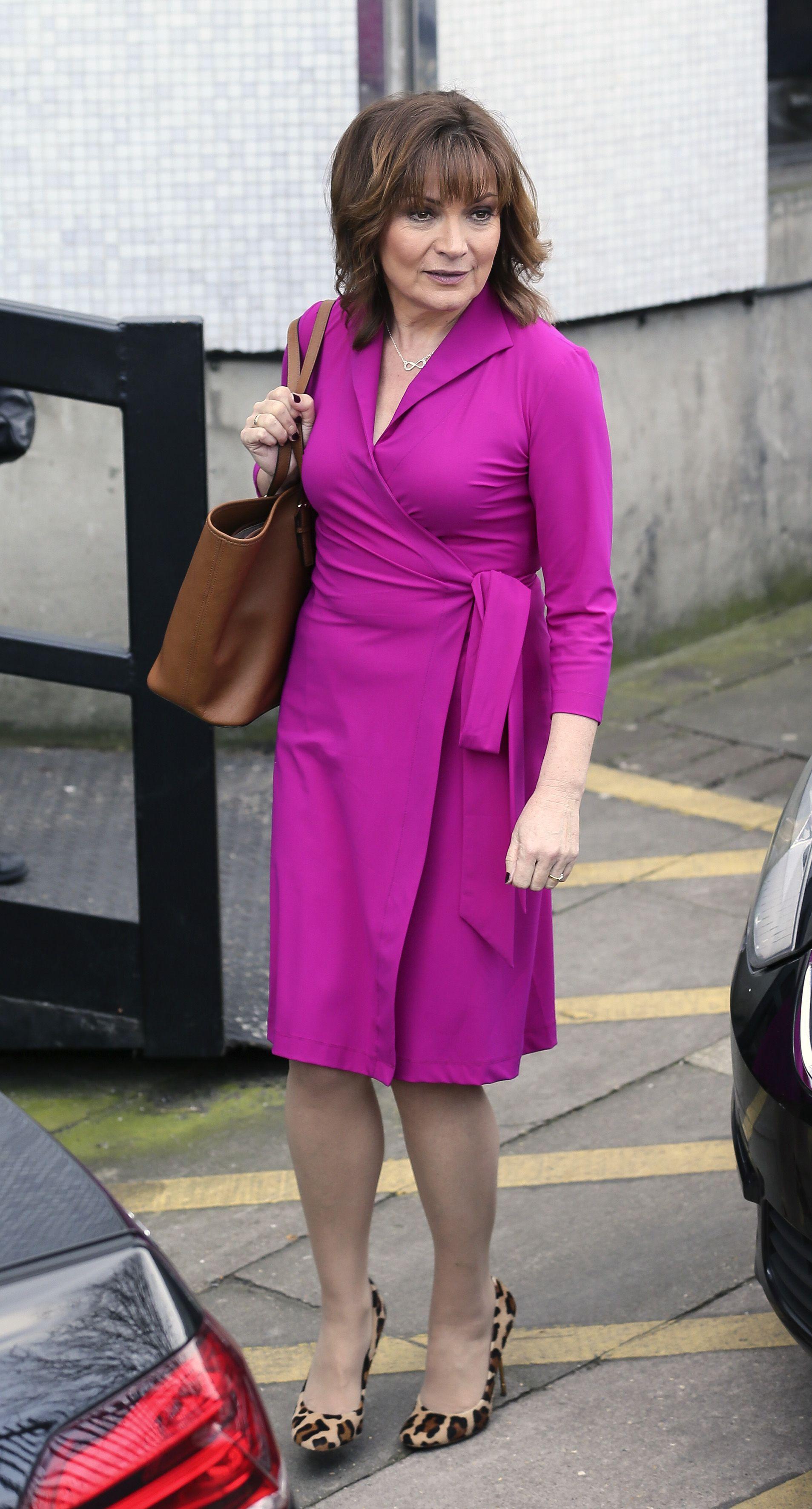 Lorraine Kelly Leaving The Itv Studios In London 10 03
