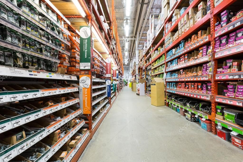 Aisle In A Home Depot Hardware Store Stock Photo Ad Depot Home Aisle Hardware Ad Home Depot Hardware Store Depot