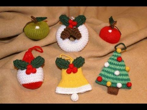 adornos para arbol de navidad a crochet modelos de colgantes navideos tejidos a ganchillo faciles de hacer bonitos adornos sin molde o patrones