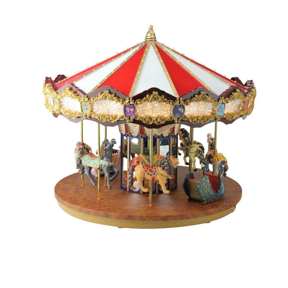 Mr Christmas Carousel.Mr Christmas 14 Lighted Musical Christmas Carousel