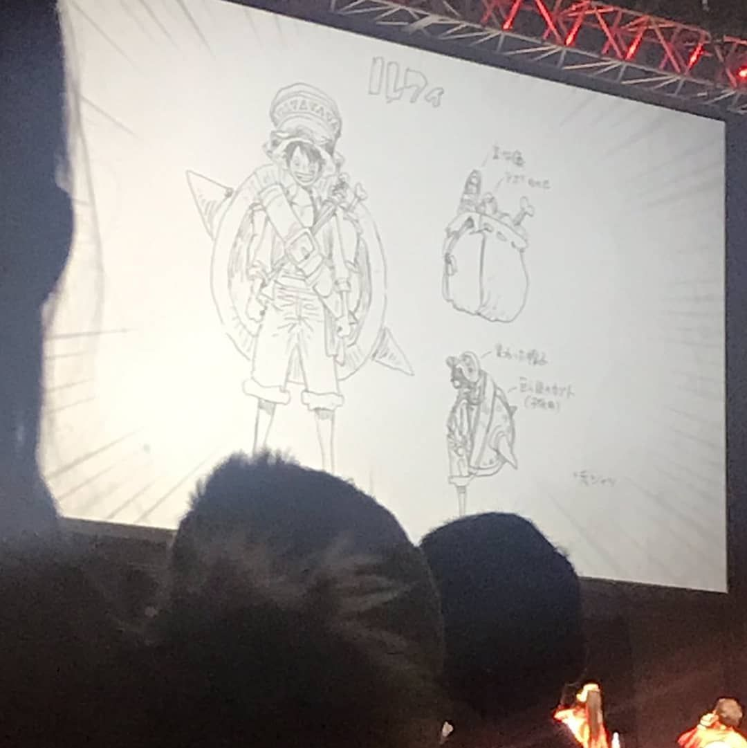 One Piece Stampede Movie 2019 Character S Outfit Designs By Oda