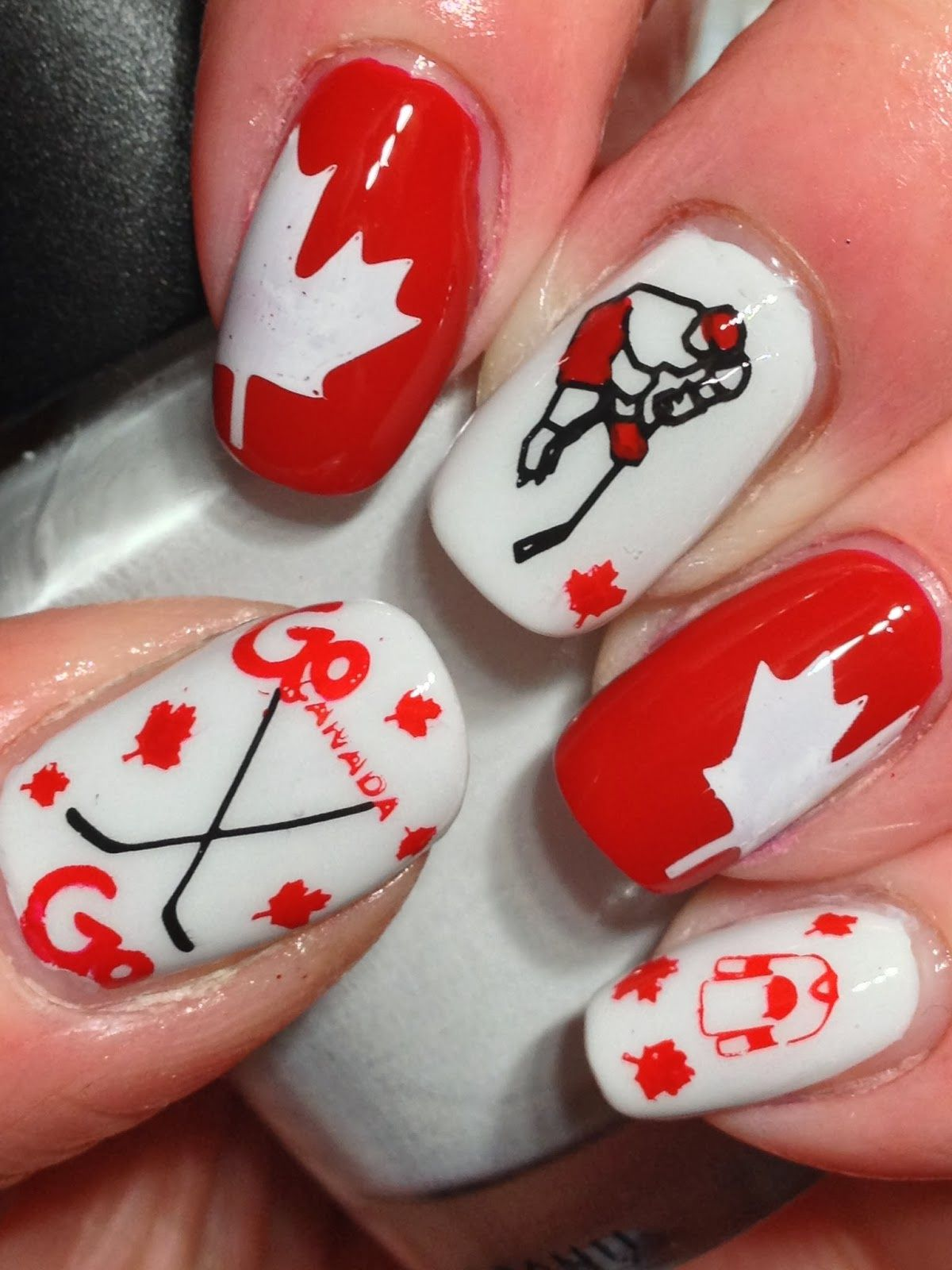 17 Fresh Acrylic Nails London canadian nail polish