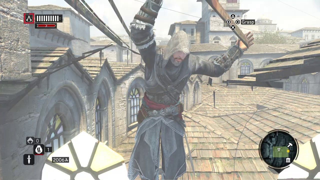 Weird Glitch Assassin S Creed The Ezio Collection Hd Ps4 Gameplay Ps4 Gameplay Glitch Assassins Creed