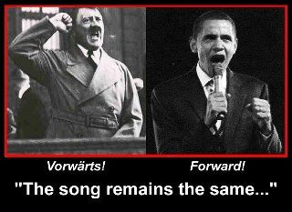 """Why exactly did Obama choose the """"Forward"""" slogan?  Born to Socialists and raised with Communist influences, it's clear that his choice of words means more than just """"forget about the past 4 years I sucked life out of America"""""""