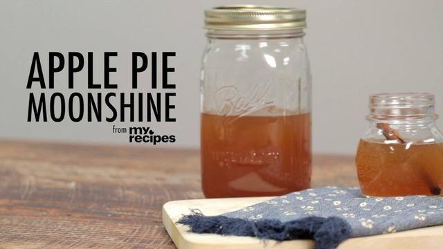 how to make apple cider moonshine