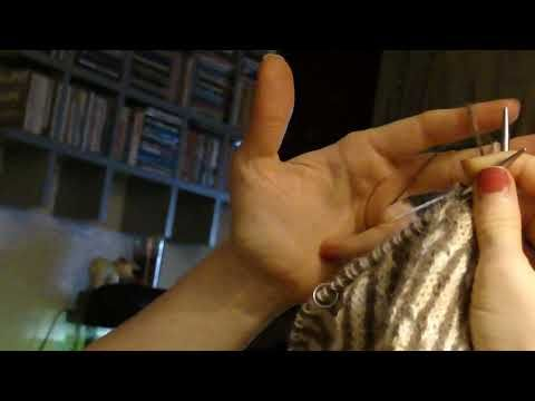 how to knit fair isle using continental method - YouTube | Craft ...