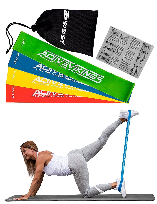 Sport Widerstandsbänder Set Workout Exercise Fitness Bands für Gymnastik Home