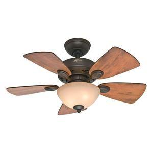 Watson Ceiling Fan With Light Kit In Walnut And New Bronze Nebraska Furniture Mart