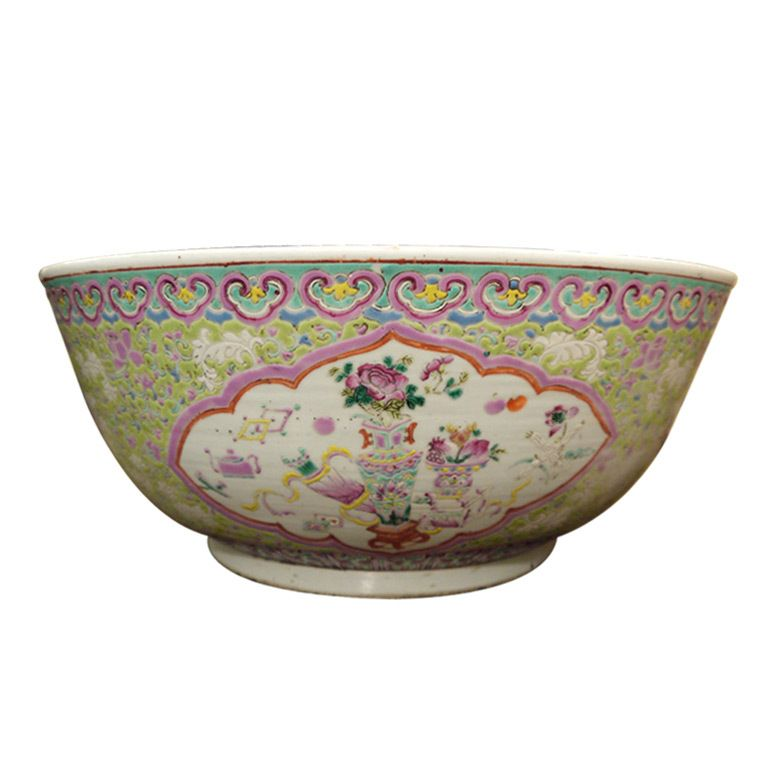 Very large Chinese bowl