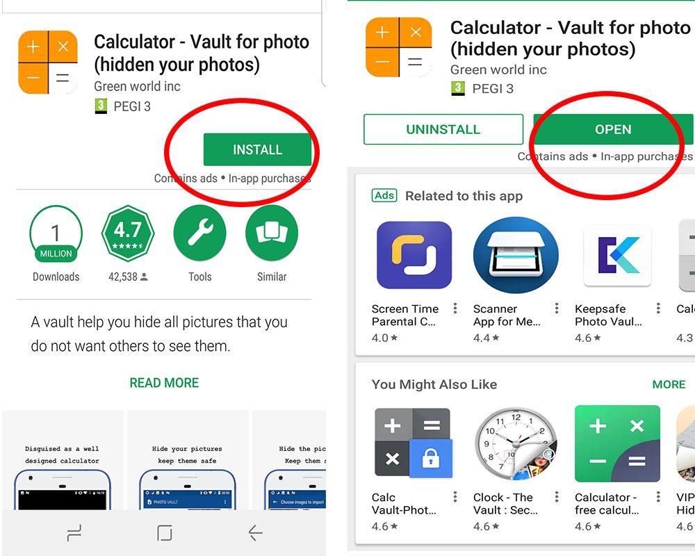 Secret Calculator App To Hide Photos And Videos Kids N Clicks Calculator App Hidden Photos App