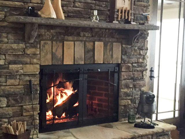 burning the home wood fireplaces regarding fireplace doors warm depot