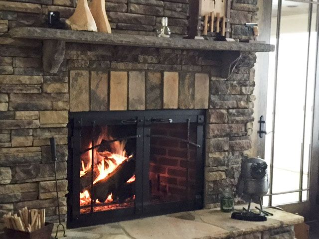 doors fireplace stoll wood glass heating masonry custom inc
