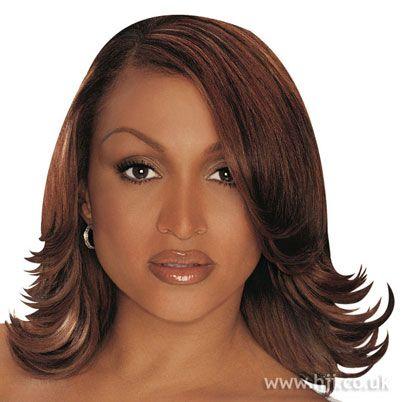 Long Flip African American Hairstyles Medium Hair Styles Hairstyles Haircuts