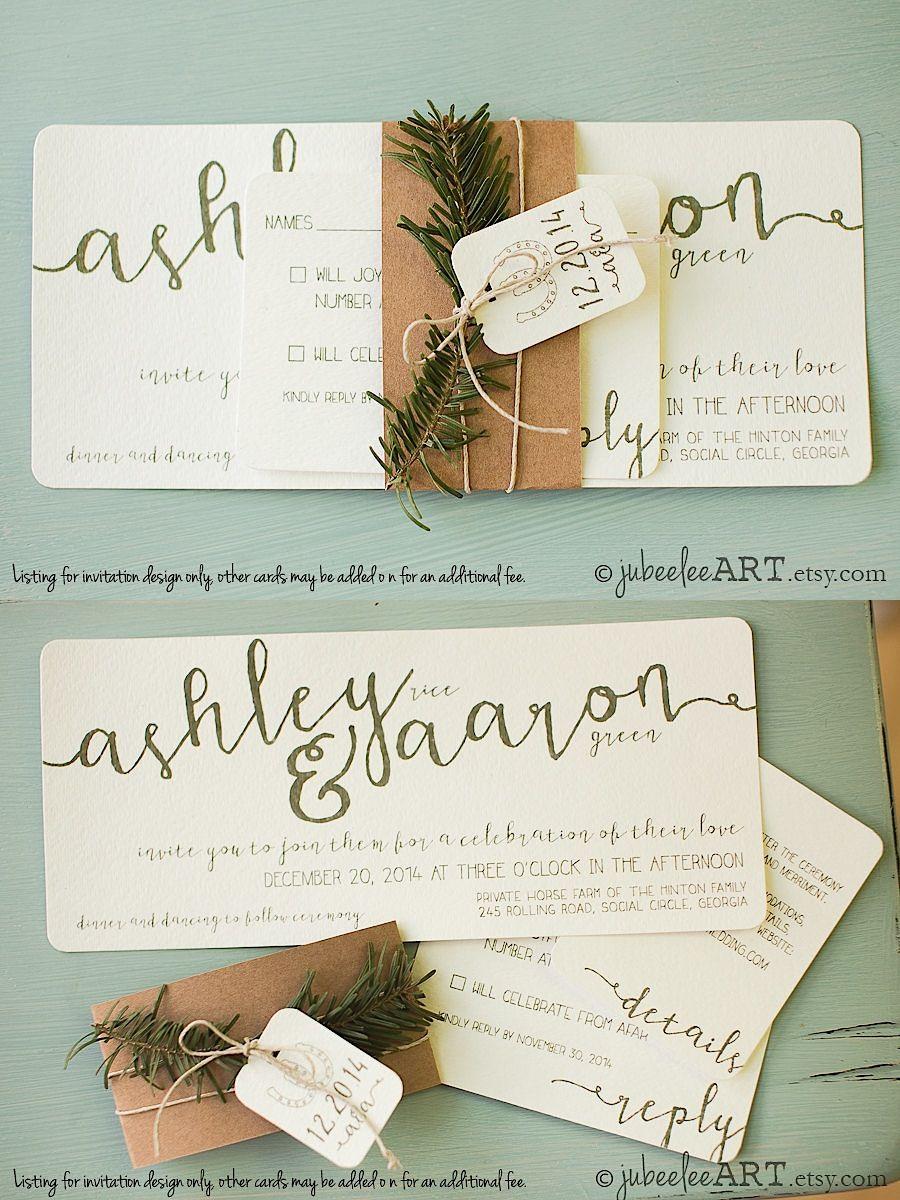Gorgeous Wedding Invitations Weddings Wedding and Christmas wedding
