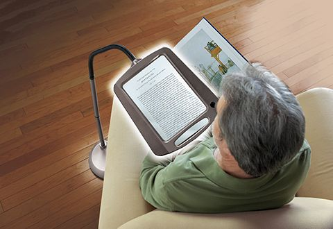 Full Page Floor Magnifying Lamp