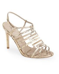 9cf4ec5243 Discover ideas about Gold Bridesmaid Shoes. a Hollie Strappy High Heel  Sandals