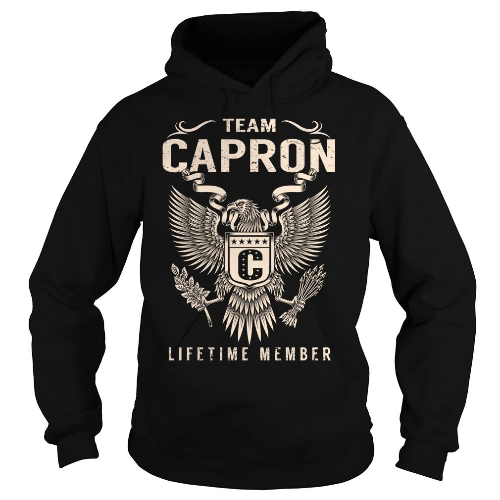 Team CAPRON Lifetime Member - Last Name, Surname T-Shirt
