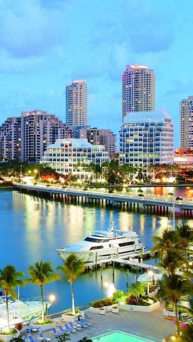 Miami, Florida, America My Home! Has It's Own Charm