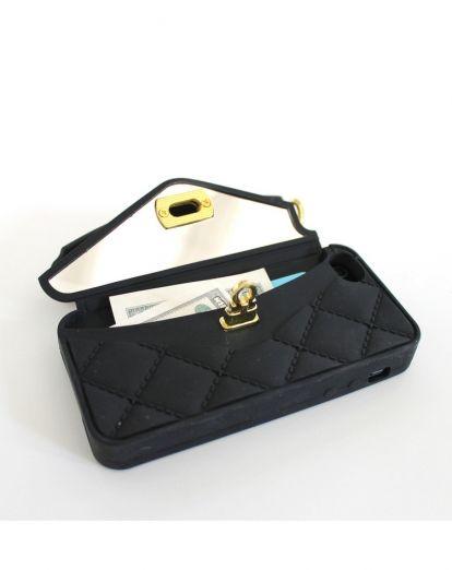 pursecase - Pursecase for iPhone 5 - Black