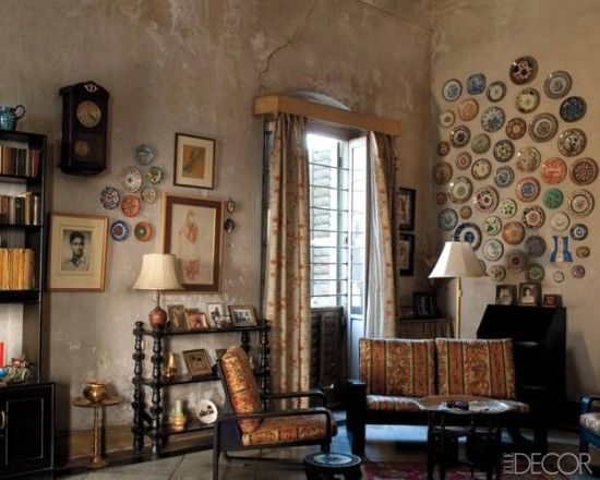 Surajit Bomti Iyengar S Home In Kolkata As Featured In Elle Decor Old Is Gold Pinterest