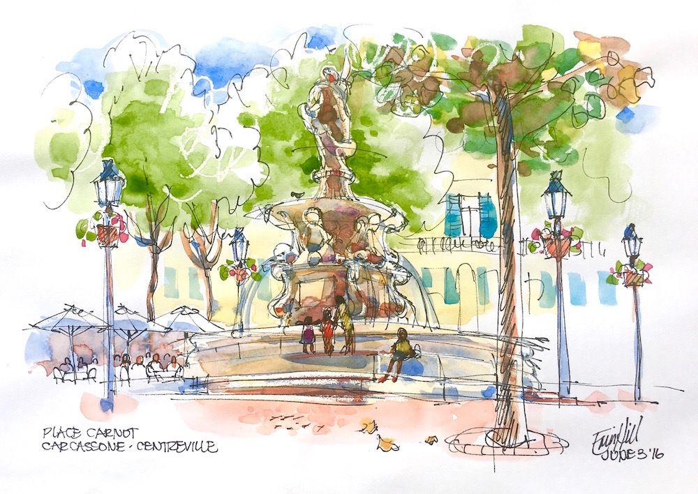 Guest Doodlewash Travel Sketching In Watercolour With Erin Hill