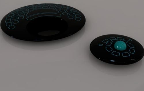 Remote Controller Keyboard.