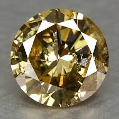 Cubic Zirconia 10285: Aaa Rated Round Bright Champagne Gold Cz (1.5Mm-50Mm) BUY IT NOW ONLY: $89.0