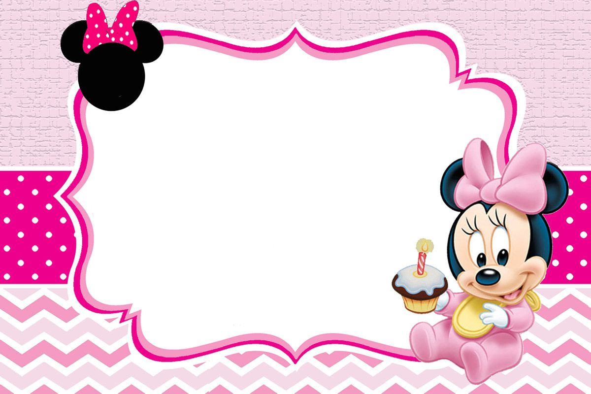 Baby Minnie Mouse Invitation Template Minnie Mouse